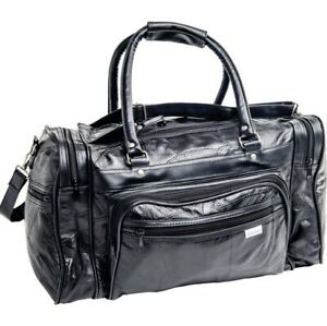 784c0531a5f6 Details about TOTE GYM GENUINE TRAVEL 17 INCH DUFFLE BAG LEATHER LUGGAGE  LARGE OVERNIGHT MEN