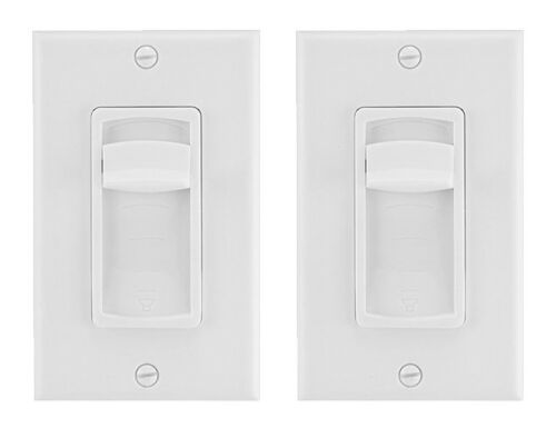 New 2 Pack Slider Speaker Volume Control In Ceiling Home Slide Wall Mount
