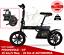 BICICLETTA-SENZA-PEDALI-ELETTRICA-PIEGHEVOLE-14-034-25KM-H-42V-20-KM-AUTONOMIA-6Ah miniature 1