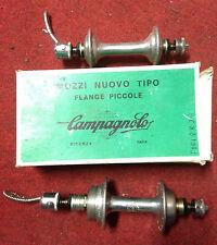 Mozzi bici coppia Campagnolo Nuovo Tipo flange piccole 28 h fori hub road bike
