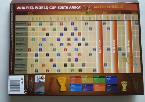 FIFA World Cup 2010 South Africa Magnets Official Album 56 magnets Complete Set