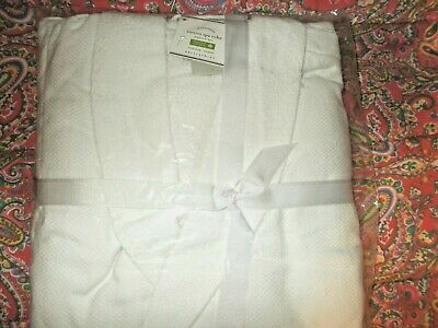 Pottery Barn Organic Cotton Spa Robe White Extra Large