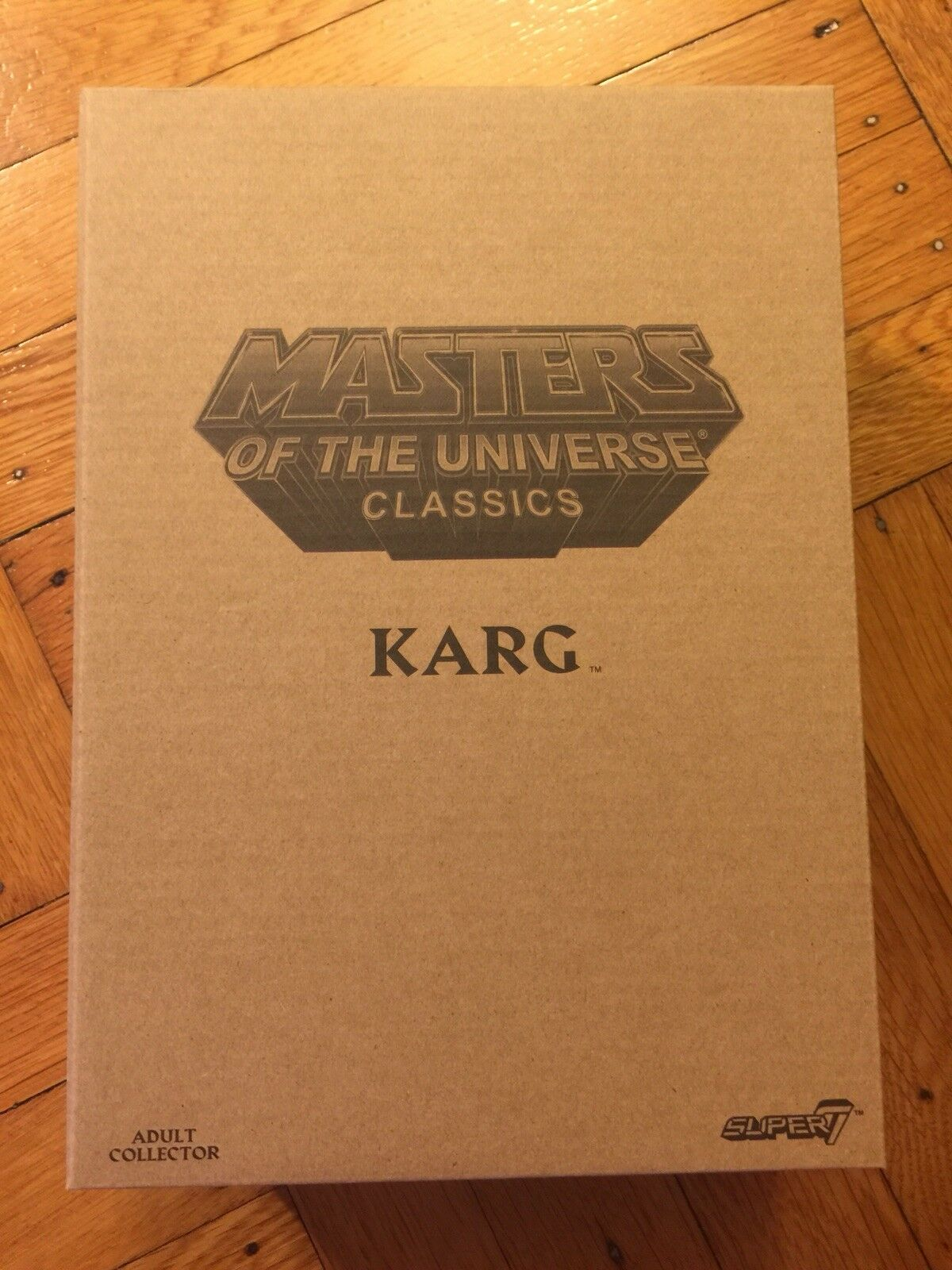 Super7 Mattel MOTUC sealed Classics Collector's Choice Karg Figure IN HAND