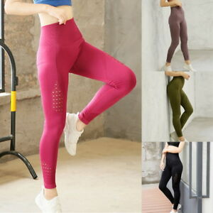a7ab3fb866 Women's Seamless Leggings Gym Sportswear Yoga Pants Running Training ...