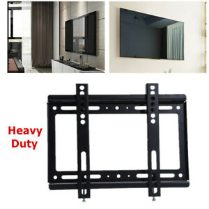 Fixed-TV-Wall-Mount-Bracket-Slim-for-32-40-50-55-60-65-70-Inch-Flat-Screen-TVs