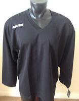 Bauer Hockey Core Black Practice Jersey Size Senior/adult Long Sleeve