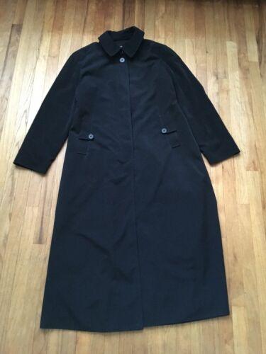 Jacket Coat Størrelse Winter Black Women's 10 London Fog 9784017482929 Long Trench fzOCZxn1WF