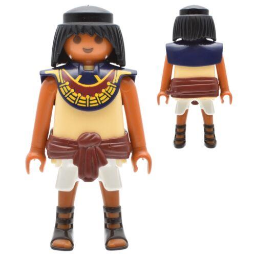 Playmobil history Egyptian figures Pharaoh Soldier Guardian skalve