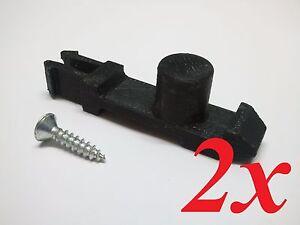 2x Folding clothes line replacement plastic latch / catch clip suit Hills hoist