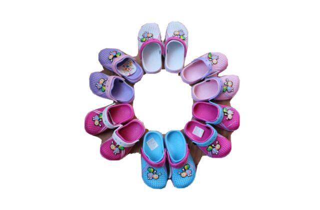 24-35 Kinder Clogs Hausschuhe Gartenschuhe Badeschuhe Sandalen Strand Kita Gr