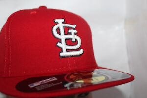 more photos 220c2 1d135 Image is loading St-Louis-Cardinals-New-Era-MLB-Authentic-Collection-