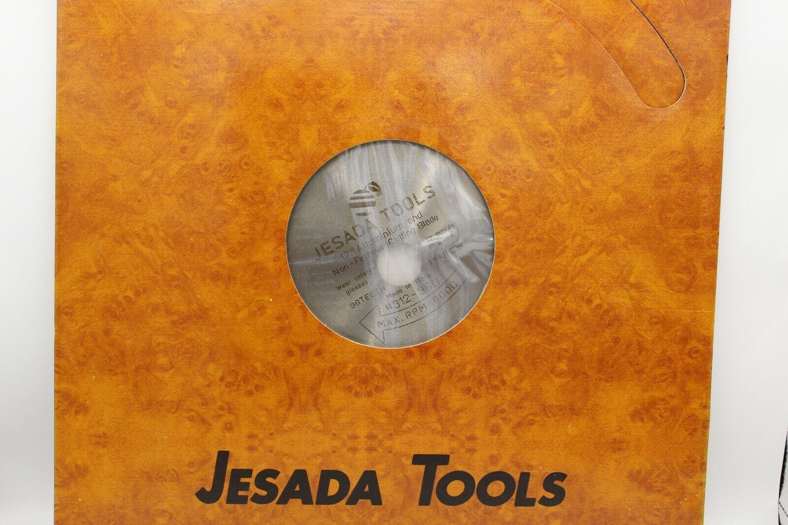 JESADA MULTI PURPOSE BLADE 12 DIA, 96 TEETH, 1  ARBOR, .130 KERF, -5° HOOK
