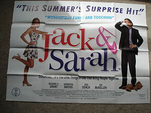 JACK-AND-SARAH-Original-film-poster-Richard-E-Grant-UK-quad