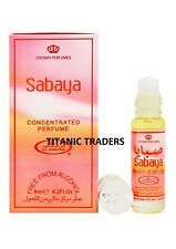 Sabaya by Al Rehab 6ML Perfume Oil Attar Ittar Itr ALCOHOL