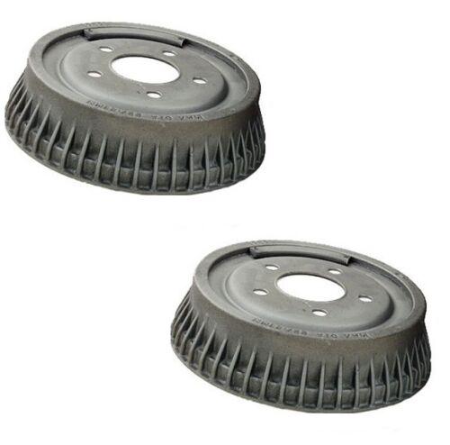 For Buick Chevrolet Pontiac Oldsmobile Set of 2 Rear Brake Drums OPparts