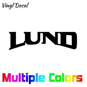 Lund-Sticker-Boat-Vinyl-Die-Cut-Decal-Multiple-options