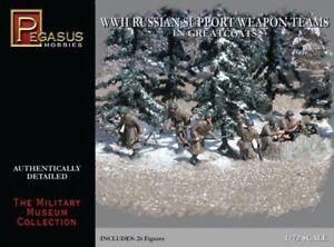 Pegasus-Hobbies-1-72-II-Guerra-Mundial-de-Rusia-Soporte-Armas-Equipos-En
