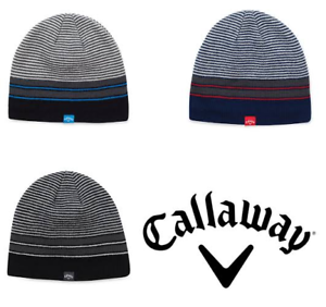 callaway golf 2019 winter chill beanie hat - new - thermal hat 3c043e093478
