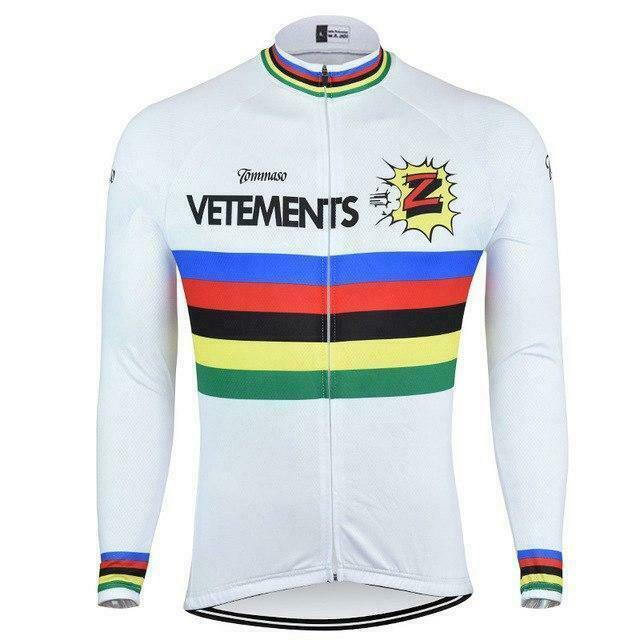 Vetements Z Long Sleeve  Cycling Jersey  with cheap price to get top brand