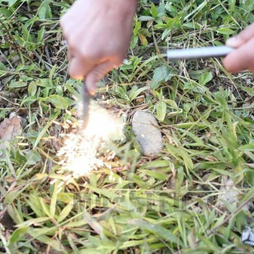 "Lots Huge 1//2/"" x 5/"" Ferrocerium Rod Flint Fire Starter Magnesium Outdoor Camping"