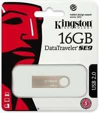 16GB KINGSTON DTSE9 METAL PEN DRIVE