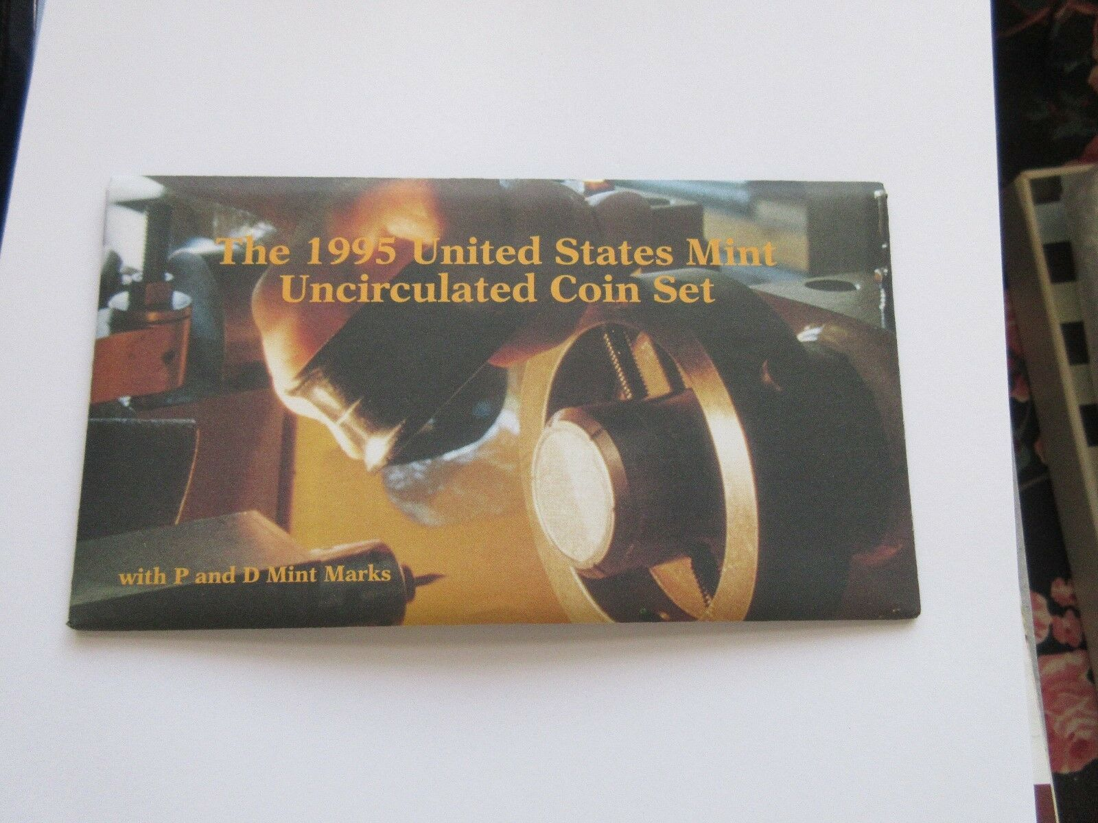 1995 United States Mint Uncirculated Coin Set With P an