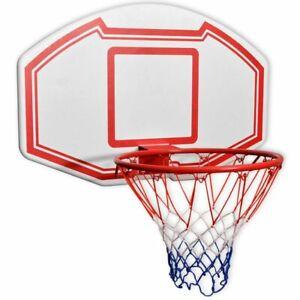 vidaXL-Basketbalset-Wandgemonteerd-Basketbal-Bord-Ring-Basket-Bal-Paneel-Set