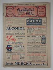 PHARMACEUTICAL ERA MAGAZINE MAR 1908 DRUG STORE PHARMACY RETAIL TRADE COCAINE AD