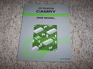 2008 Toyota Camry Sedan Electrical Wiring Diagram Manual ...