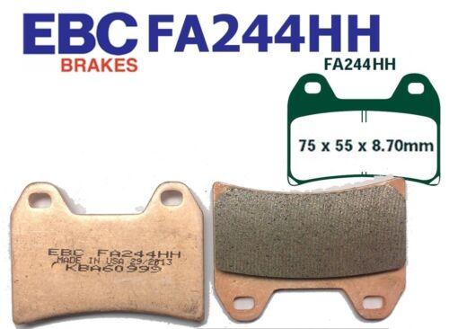 EBC plaquette de frein plaquettes de frein fa244hh avant moto guzzi stelvio NTX 1200 09-10