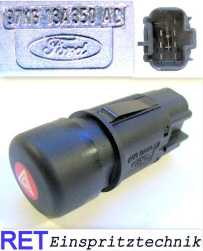 Interrupteur WARNBLINKSCHALTER 97kg13a350 FORD KA Original