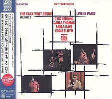 The Stax/Volt Revue Volume 2 Live In Paris CD NEW SEALED Obi Strip Otis Redding+