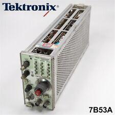 Tektronix 7b53a Dual Time Base Plug In Module