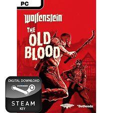 WOLFENSTEIN THE OLD BLOOD PC STEAM KEY