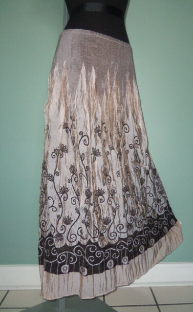 013fdf9db3 VERSATILE Anthropologie Lapis Convertible TAUPE Crinkle SKIRT Strapless  DRESS OS