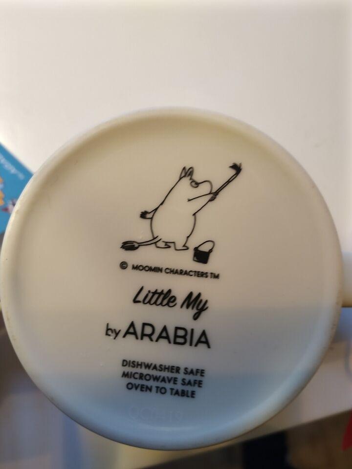 Porcelæn, Kopper , Moomin by arabia