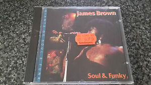 James Brown Soul amp Funky CD Spanish Compilation Made in Austria No Barcode - Cannock, Staffordshire, United Kingdom - James Brown Soul amp Funky CD Spanish Compilation Made in Austria No Barcode - Cannock, Staffordshire, United Kingdom