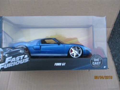 1//24 SCALE JADA FAST AND FURIOUS FORD GT NEW BOXED