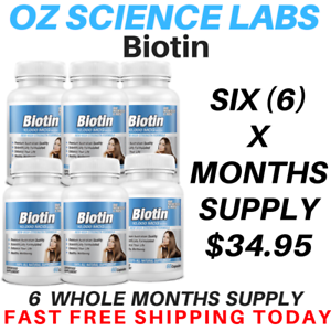 Biotin-360-Capsules-10-000mcg-Maximum-Strength-Hair-Skin-Nails-QTY-DISC-BUY