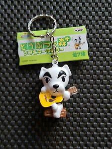 Nintendo Animal Crossing keychain Figure Banpresto 2001 rare promo K.K. SLIDER