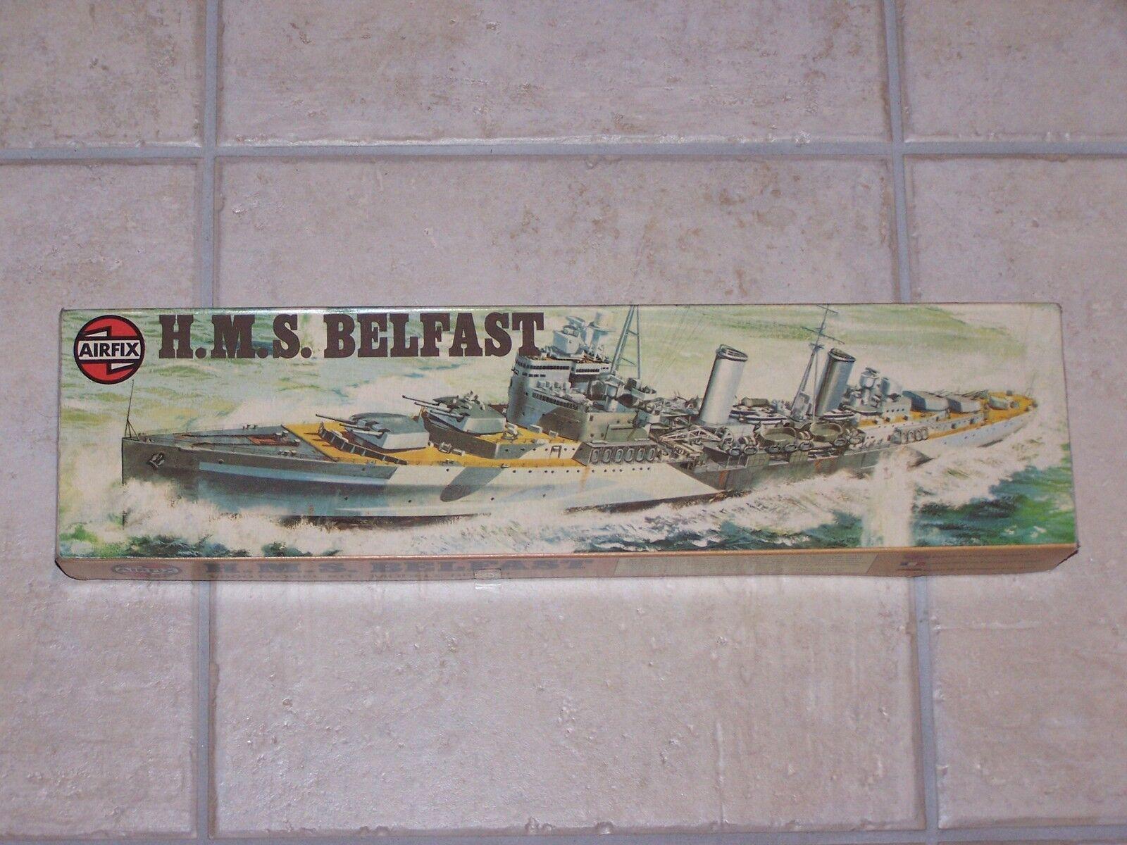 Maquette AIRFIX 1 600ème 600ème 600ème  HMS BELFAST 04212-3  1976 f037dd