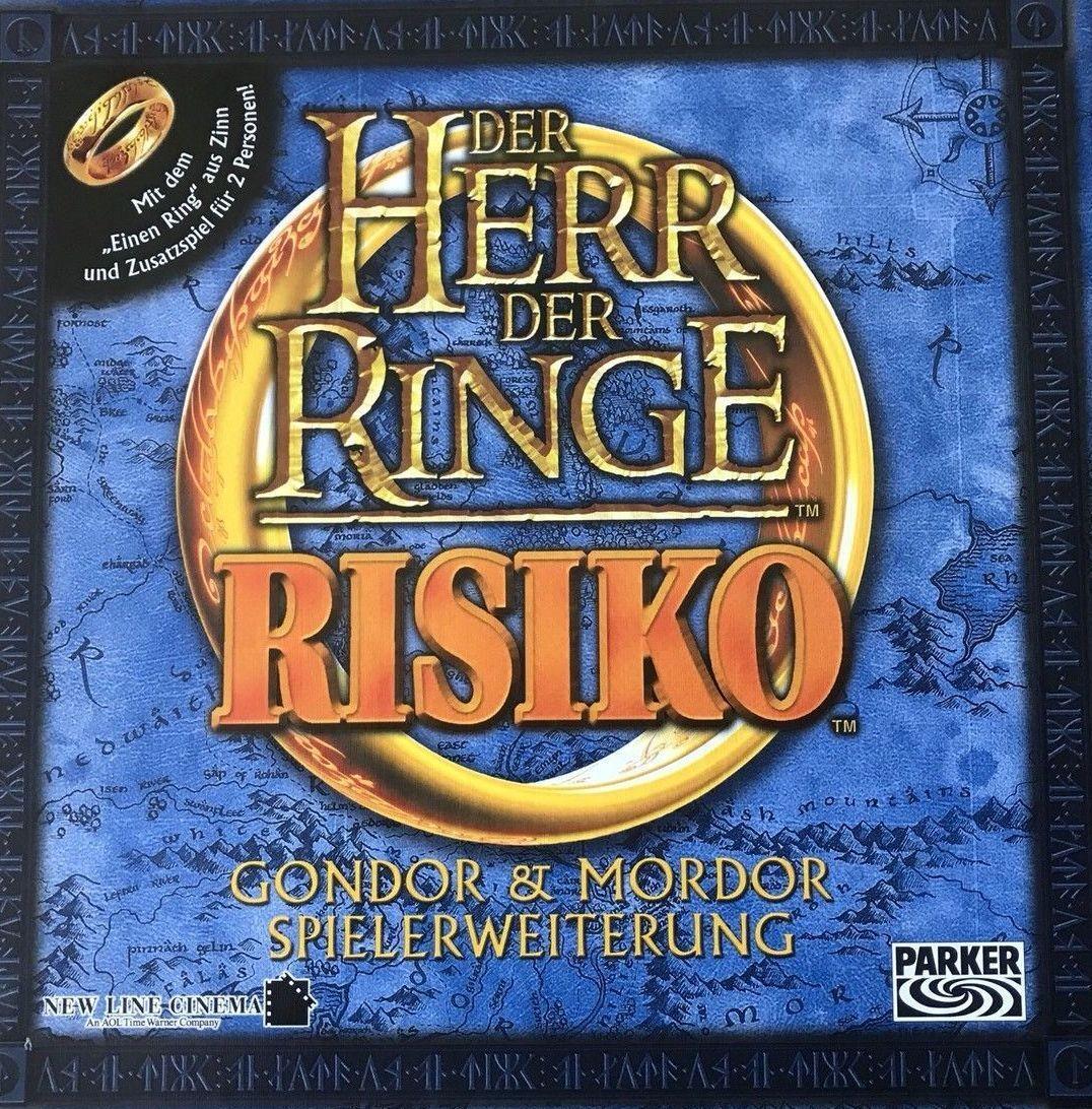 Herr der Ringe. Risiko. Gondor & Mordor Spielerweiterung. Absolut neu ungespielt