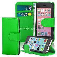 Todos los Apple Iphone Nuevo Libro Magnético Flip con Soporte Cartera De Cuero Funda Cubierta Trasera