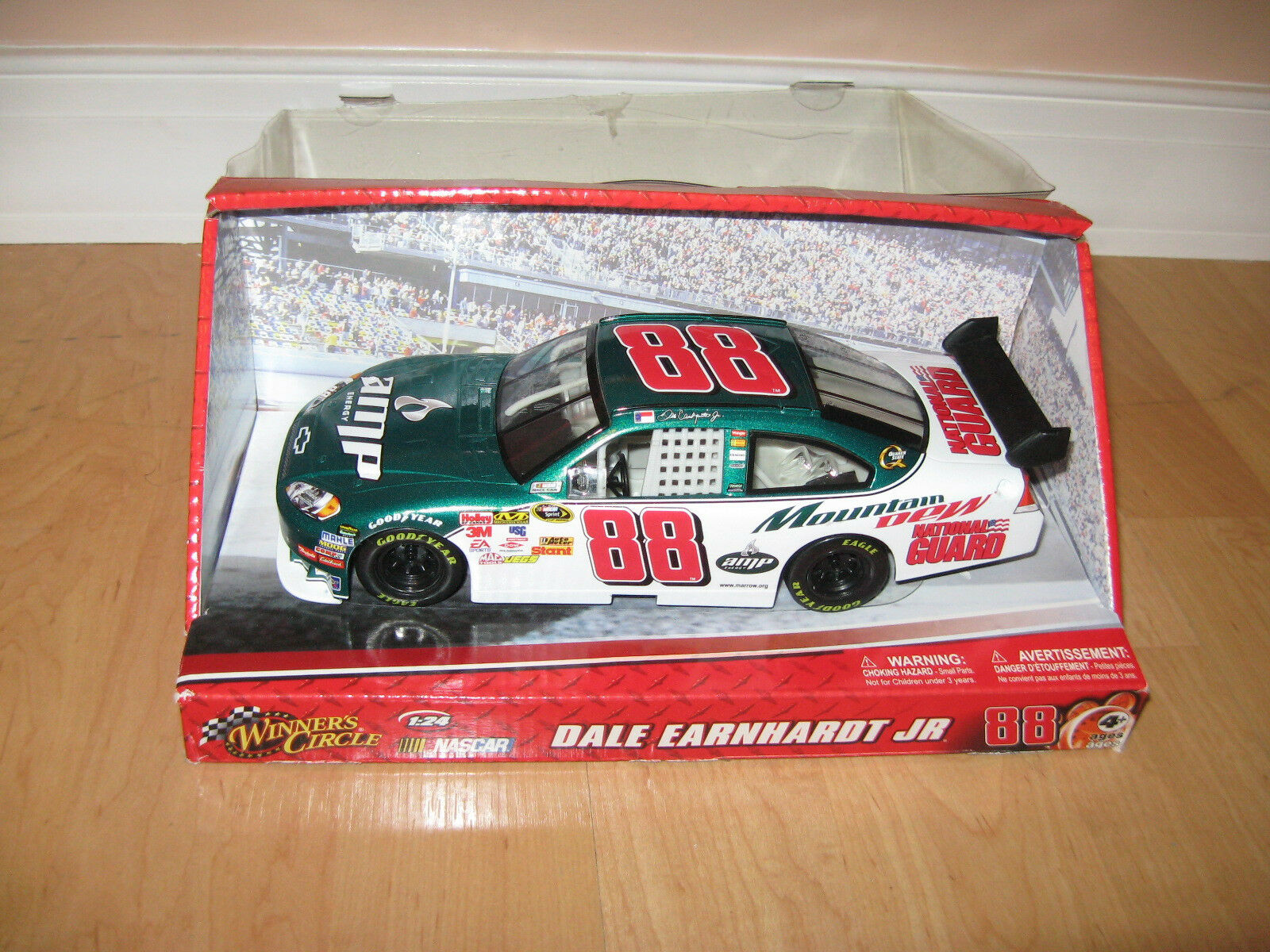 Nascar model car Dale Earnhardt Jr 88 scale 1 24 -open box, never used
