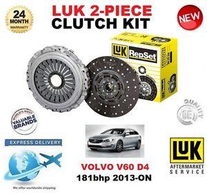 Para-Volvo-V60-raices-D4-181-Cv-2013-ON-Kit-de-embrague-2-Piezas-Calidad-OE