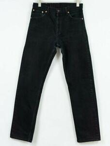 Levis-521-Jeans-Regolare-Dritto-Nero-Misura-Uomo-W32-L34
