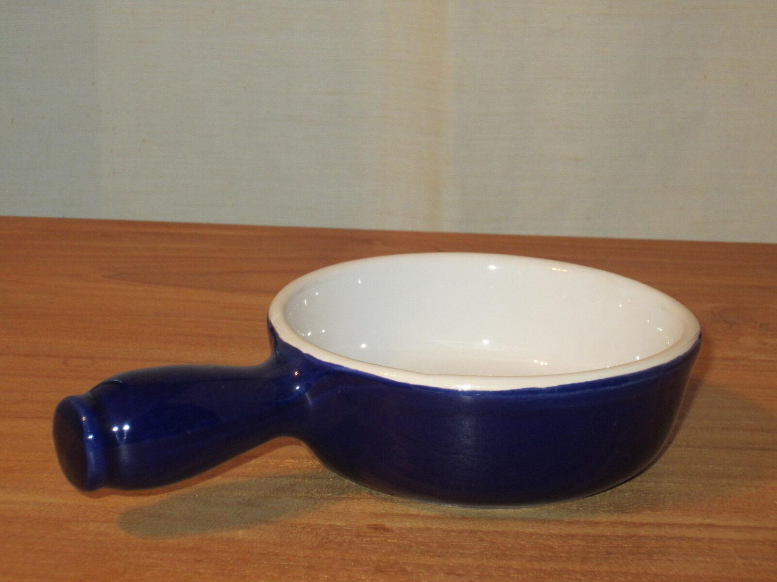 EMILE HENRY NEW Bleu Cobalt Set 6 Caquelons 10cm