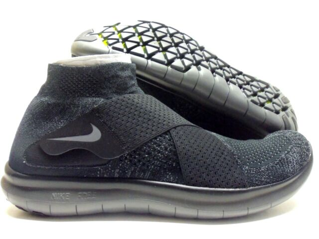 4d06bf7fece1f Nike RN Motion Flyknit 2017 Shoes Mens 14 Black Grey 880845 003 for ...