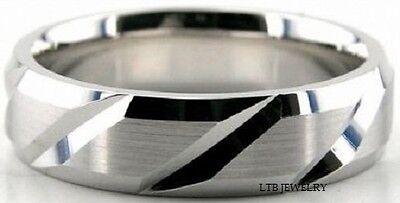 Clever 14k Massiv Weißgold Eheringe Ringe Satiniert 6mm