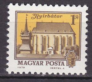 HUNGARY-1979-MNH-SC-2570-Calvinist-Church-Nyirbator